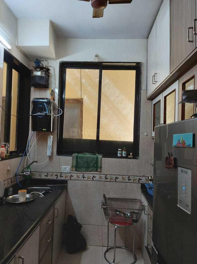 Kitchen Image of 1250 Sq.ft 2 BHK Apartment for rent in Ghansoli for 23000