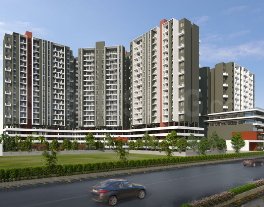 Gallery Cover Image of 607 Sq.ft 1 BHK Apartment for buy in Tulip Infinity Planet C And D Wing, Moshi for 2700000