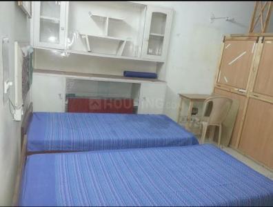 ग्रेटर कैलाश आई में गर्ल्स पीजी में बेडरूम की तस्वीर