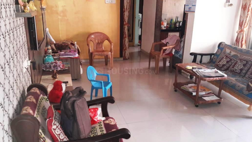 Living Room Image of 1050 Sq.ft 2 BHK Apartment for rent in Kamothe for 13000