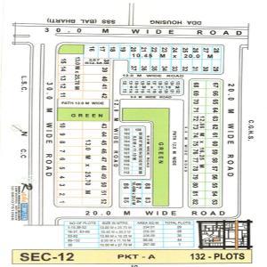 209 Sq.ft Residential Plot for Sale in Sector 12 Dwarka, New Delhi