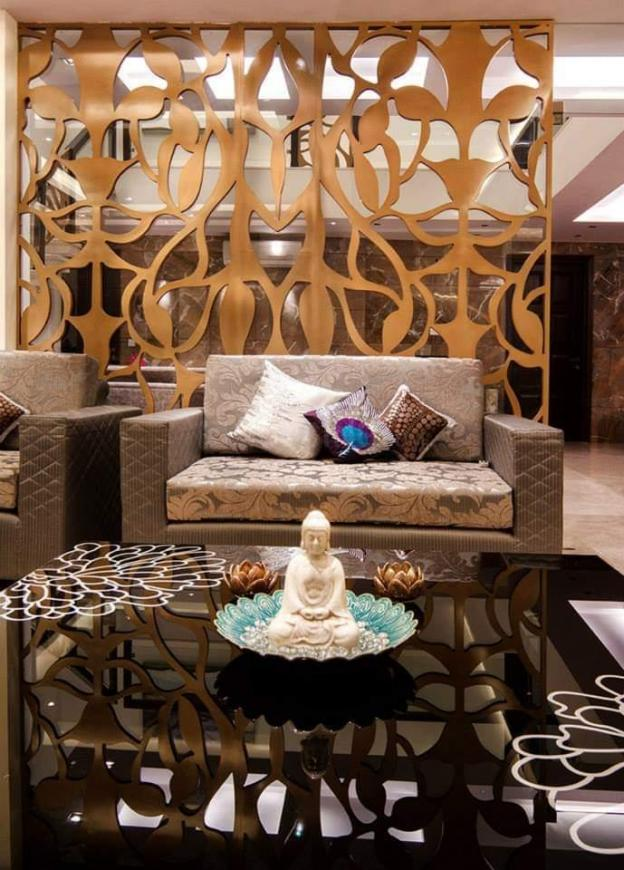 Living Room Image of 650 Sq.ft 1 BHK Apartment for rent in Hyderguda for 13000