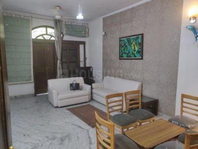 Gallery Cover Image of 1500 Sq.ft 3 BHK Independent Floor for rent in Block B Gujranwala Town RWA, Gujranwala Town for 45000