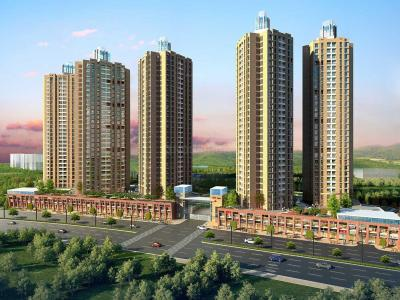Gallery Cover Image of 644 Sq.ft 2 BHK Apartment for buy in Thane West for 10200000
