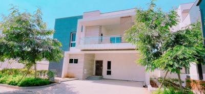 Gallery Cover Image of 4660 Sq.ft 4 BHK Villa for buy in Rajapushpa Green Dale, Tellapur for 59000000