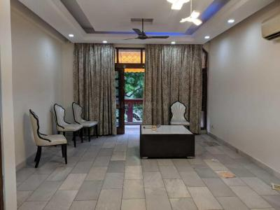 Gallery Cover Image of 1800 Sq.ft 3 BHK Independent Floor for rent in Nizamuddin East for 75000