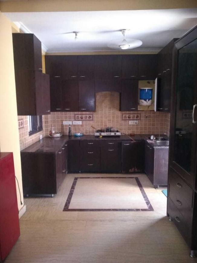 Kitchen Image of 2250 Sq.ft 3 BHK Independent Floor for rent in Sector 38 for 45000