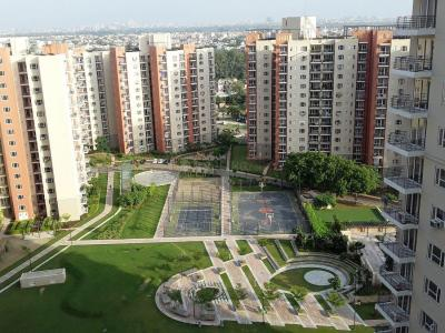 Gallery Cover Image of 350 Sq.ft 1 BHK Apartment for rent in Mahindra Aura, Sector 110A for 7000