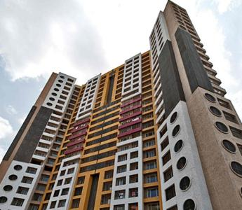 Gallery Cover Image of 1150 Sq.ft 2 BHK Apartment for rent in Group Rushi Heights, Malad East for 42000