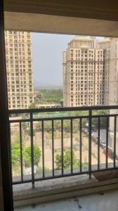 Gallery Cover Image of 650 Sq.ft 2 BHK Apartment for rent in Uma Acropolis Neopolis, Thane West for 20000