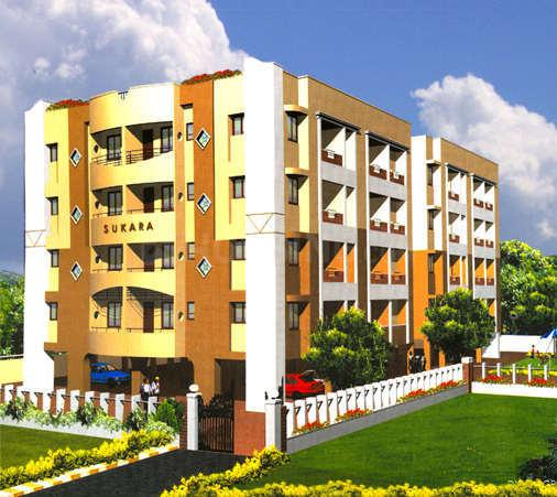 Building Image of 1000 Sq.ft 2 BHK Apartment for buy in Rameshwari for 4500000