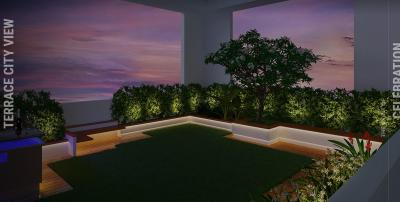 Balcony Image of 1000 Sq.ft 2 BHK Apartment for buy in Jewel Crest, Mahim for 40000000