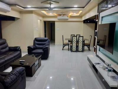 Gallery Cover Image of 1213 Sq.ft 3 BHK Apartment for rent in Bandra East for 125000