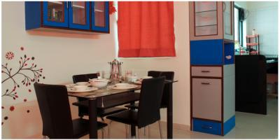 Kitchen Image of A Single Private Room Available On Rent In 3bhk Fully Furnished Flat At Baner in Baner