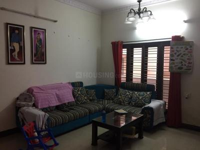 Gallery Cover Image of 1300 Sq.ft 2 BHK Independent Floor for rent in NRI Layout for 14000