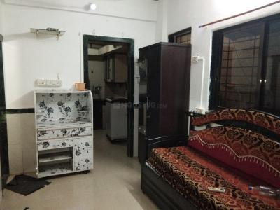 Gallery Cover Image of 410 Sq.ft 1 RK Independent House for rent in Airoli for 14000
