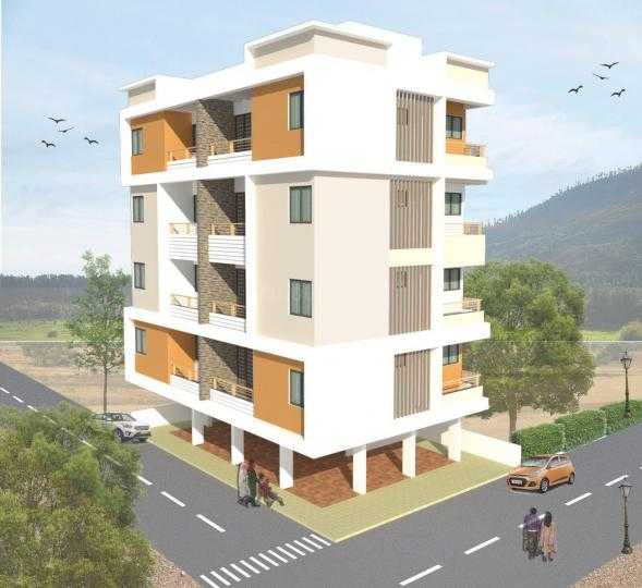 Building Image of 586 Sq.ft 1 BHK Apartment for buy in Gorhe Bk. for 2000000