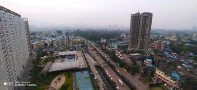 Gallery Cover Image of 1680 Sq.ft 3 BHK Apartment for rent in Akshar Green World, Dighe for 32000