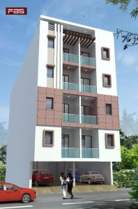 Gallery Cover Image of 680 Sq.ft 2 BHK Apartment for buy in Sagar Homes II, Sector 105 for 2500000