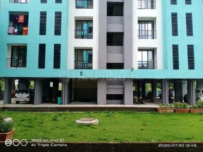 Gallery Cover Image of 625 Sq.ft 1 BHK Apartment for buy in Ram Laxman Sadguru Residency, Shilphata for 3300000
