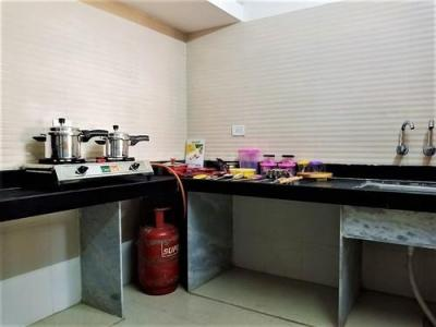 Kitchen Image of Cosmos Ruby -1 Flat-16a in Thane West