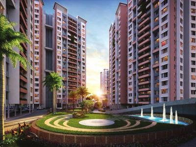 Gallery Cover Image of 927 Sq.ft 2 BHK Apartment for buy in Siddha Happyville, Reekjoyoni for 4721500
