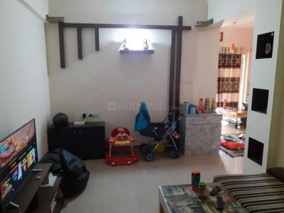 Gallery Cover Image of 980 Sq.ft 1 BHK Apartment for rent in SLS Sunflower, Bhoganhalli for 25000