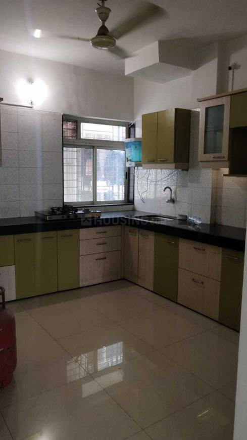 Kitchen Image of 1036 Sq.ft 3 BHK Apartment for rent in Thane West for 27000