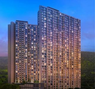 Gallery Cover Image of 621 Sq.ft 1 BHK Apartment for buy in Marathon Nexzone Daffodil 2, Panvel for 4400000