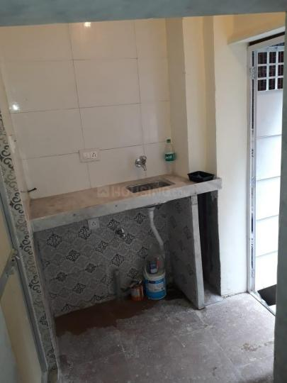 Kitchen Image of Lock And Key Independent Room With Ac, Bed, Wardrobe, Fridge, Gas And Attached Washroom in Bandra West