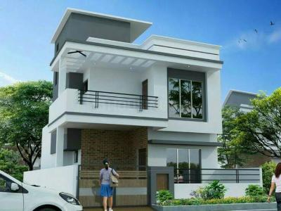 Gallery Cover Image of 1200 Sq.ft 3 BHK Villa for buy in Amtala for 3500000