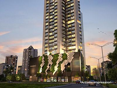 Gallery Cover Image of 650 Sq.ft 2 BHK Independent Floor for buy in Lower Parel for 28500000