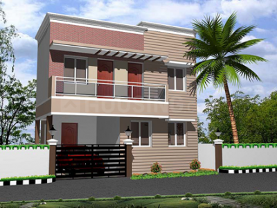 Gallery Cover Image of 1240 Sq.ft 3 BHK Independent House for buy in Mappedu for 5360000