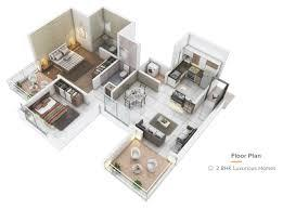 Gallery Cover Image of 702 Sq.ft 1 RK Apartment for buy in Konark Grand Casa, Thergaon for 4300000