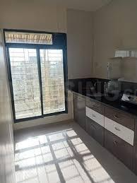 Kitchen Image of 700 Sq.ft 1 BHK Apartment for buy in Hare Krishna, Kharghar for 6900000
