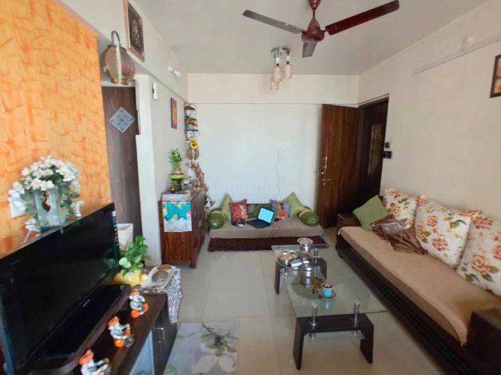 Living Room Image of 785 Sq.ft 1 BHK Apartment for rent in Kalamboli for 12500