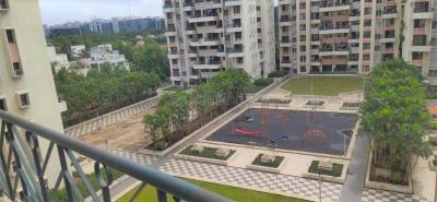 Gallery Cover Image of 1500 Sq.ft 3 BHK Apartment for rent in Magarpatta Roystonea, Magarpatta City for 30000