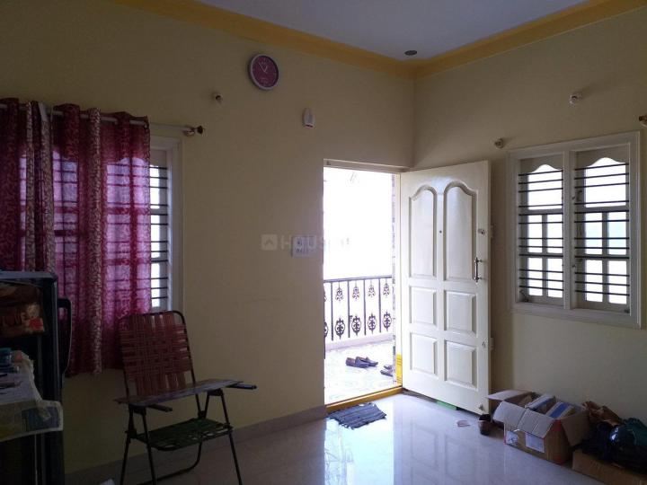 Living Room Image of 750 Sq.ft 1 BHK Apartment for rent in Ramamurthy Nagar for 9000