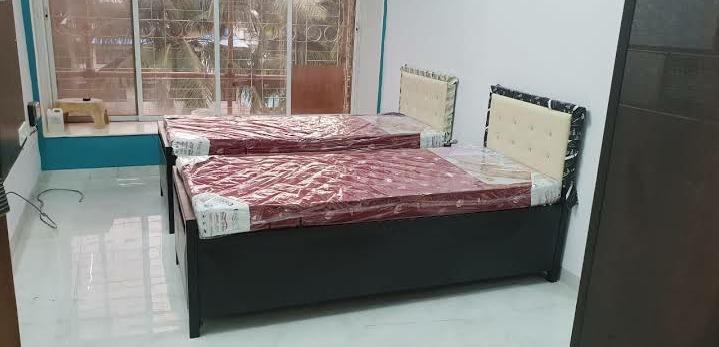 शेख सराई में भारत पीजी के बेडरूम की तस्वीर