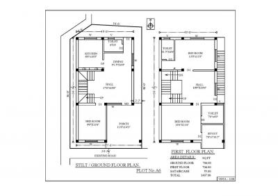 Gallery Cover Image of 1600 Sq.ft 3 BHK Independent House for buy in Sembakkam for 9300000