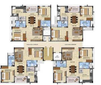Gallery Cover Image of 1085 Sq.ft 2 BHK Apartment for buy in Radiance The Pride, Pallavaram for 7382000