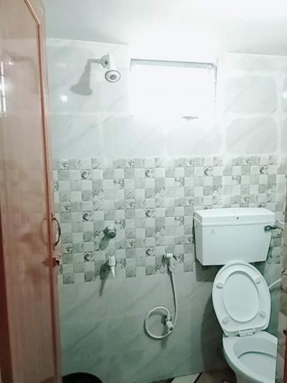 न्यू टाउन में सिंह पीजी के बाथरूम की तस्वीर