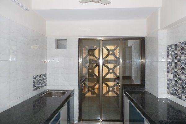 Kitchen Image of 1341 Sq.ft 3 BHK Apartment for rent in Mira Road East for 26000