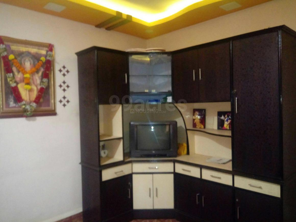 Living Room Image of 500 Sq.ft 1 BHK Apartment for rent in Dombivli East for 10000