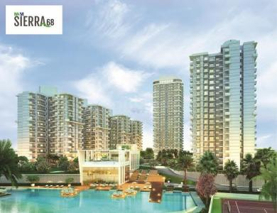 Gallery Cover Image of 1264 Sq.ft 2 BHK Apartment for buy in M3M Sierra 68, Sector 68 for 8000000