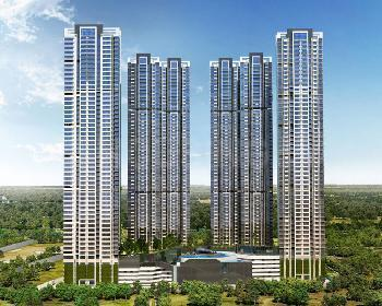 Gallery Cover Image of 1135 Sq.ft 2 BHK Apartment for buy in Sheth Corp Montana, Mulund West for 14500000