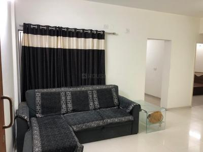 Gallery Cover Image of 1120 Sq.ft 2 BHK Apartment for rent in Godrej Garden City - Carmel, Chandkheda for 20000