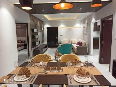 Gallery Cover Image of 1890 Sq.ft 3 BHK Apartment for rent in Godrej Woodsman Estate, Hebbal Kempapura for 40000