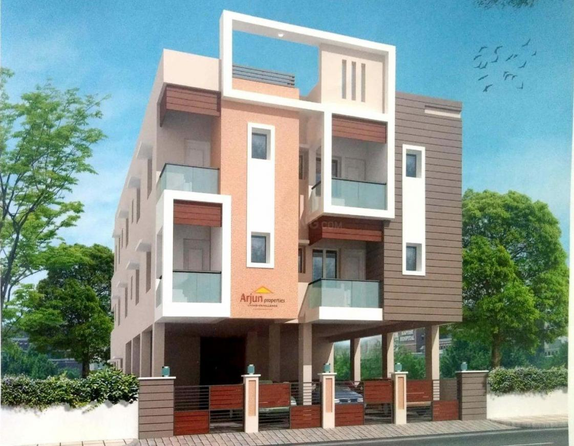 Building Image of 2400 Sq.ft 3 BHK Apartment for rent in Korattur for 20000