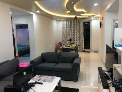 Gallery Cover Image of 1460 Sq.ft 3 BHK Apartment for rent in Muppa Alankrita, Narsingi for 26000
